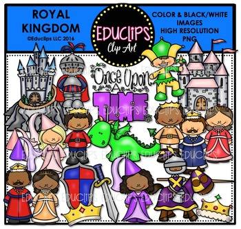 Royal Kingdom Clip Art Bundle