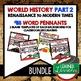 Royal Power/ Absolutism Word Wall Pennants (World History)