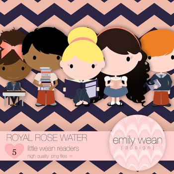 Royal Rose Water - Little Readers Clip Art