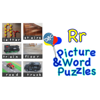 Rr Picture & Word Puzzles