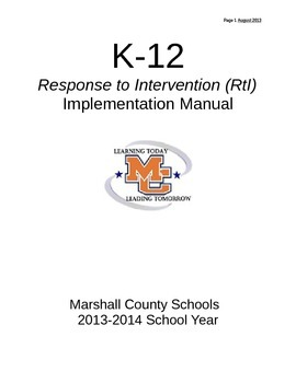 RtI Implementation Guide