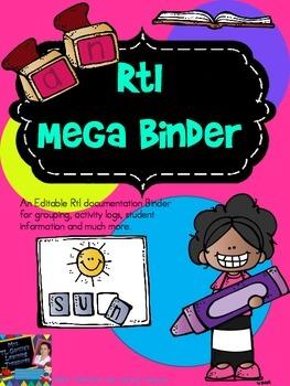 RtI Mega Binder for CPALLS (Update)