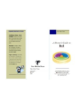 RtI: Parent Information Brochure