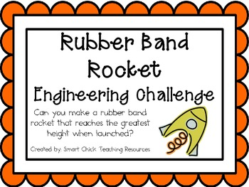 Rubber Band Rocket: Engineering Challenge Project ~ Great
