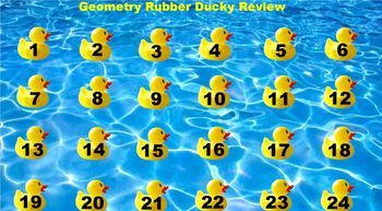 Rubber Ducky Geometry Review Game