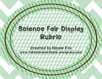 Rubric: Science Fair Display