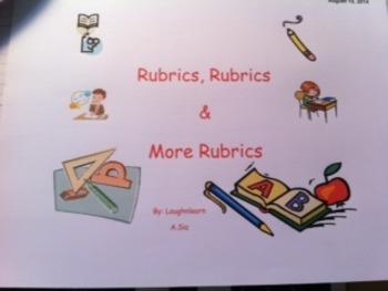 Rubrics for Grade 4
