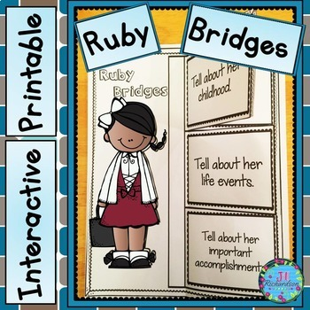 Ruby Bridges Writing Interactive Printable
