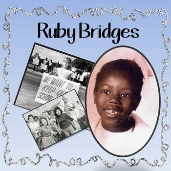 Black History Month - Ruby Bridges Reading Activity