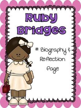 Ruby Bridges Biography & Reflection Page