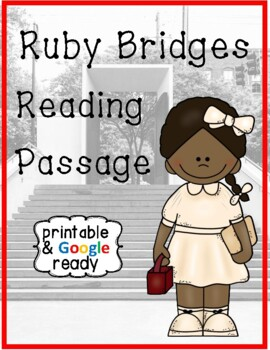 Ruby Bridges Biography Close Reading Passage