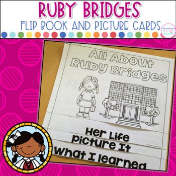 Ruby Bridges- Flip Book and Vocab Cards