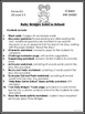Ruby Bridges Goes To School Black History Month Lesson Act