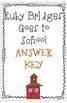 Ruby Bridges Goes to School Comprehension Questions