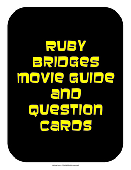 Ruby Bridges Movie Guide
