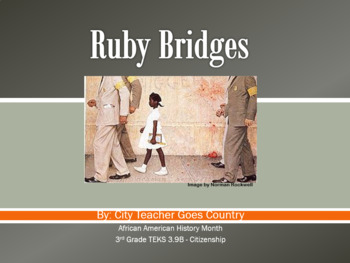 Ruby Bridges Power Point w/ Video Link (powerpoint) Social