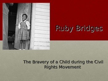Ruby Bridges Powerpoint