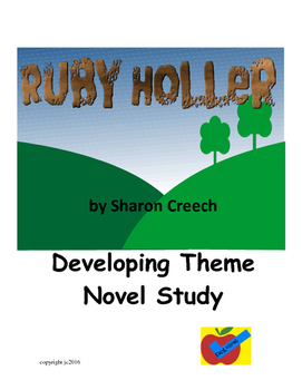 Ruby Holler by Sharon Creech a theme based novel study