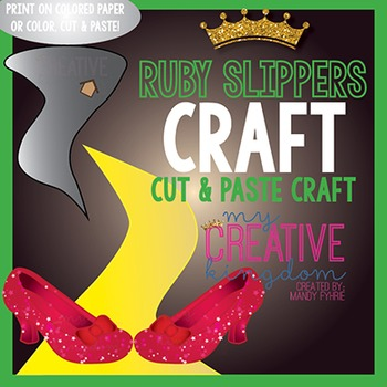 Ruby Slippers Wizard of Oz Craft
