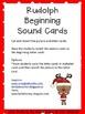 Rudolph Beginning Sound Cards