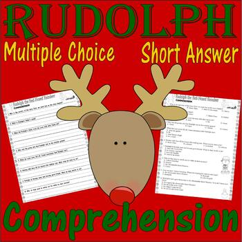 Rudolph the Red-Nosed Reindeer : Comprehension : Lined Han