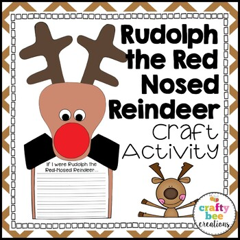 Rudolph the Red-Nosed Reindeer Craftivity