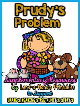 Reading Street Prudy's Problem and How She Solved It RTI Game