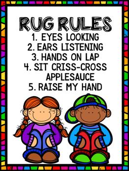 Rug Rules