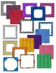 Square Covers - Digital Papers - Backgrounds - a Variety o