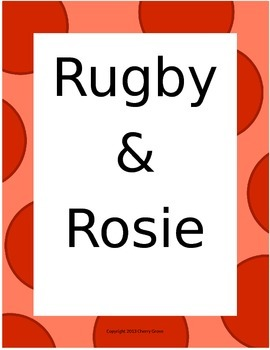 Rugby and Rosie:  Imagine It! Grade 3