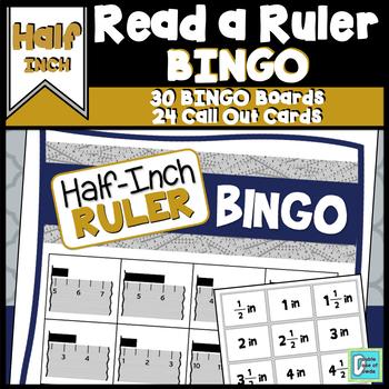 Ruler BINGO to the Half-Inch