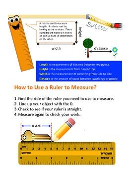 Ruler and Measurements
