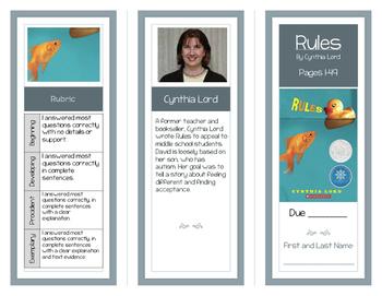 Rules Comprehension Brochures