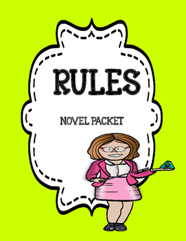Rules - Comprehension & Vocabulary Novel Unit