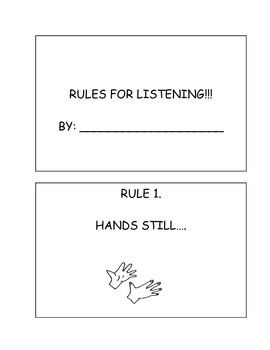 Rules For Listening