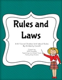 Rules & Laws K/1 Social Studies Unit