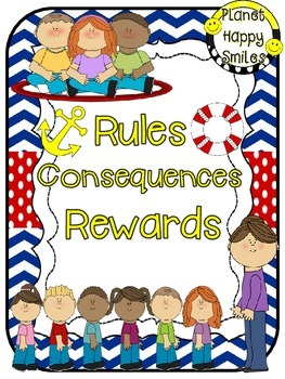 Rules Posters ~ Nautical