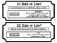 Rules and Laws Quiz Quiz Trade Game Cards