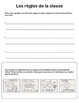 Rules and responsibilities student workbook (Grade 1 Frenc