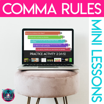 Rules for Commas & Semicolons