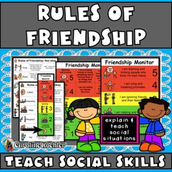 Rules of Friendship: Tool to Define Relationships (Autism,