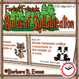 RULES of SYLLABICATION: *Forest Friends Edition*