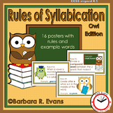 RULES OF SYLLABICATION: The Owl Edition