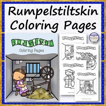 Rumpelstiltskin Coloring Pages