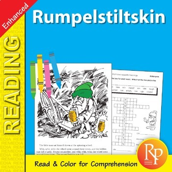 Rumpelstiltskin: Read & Color - Enhanced