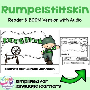 Rumpelstiltskin Spanish Reader ~ Simplified for Language Learners