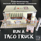 Run A Taco Truck, A Project Based Learning Activity (PBL)