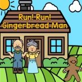 Run! Run! Gingerbread Man - Literacy and Math Unit