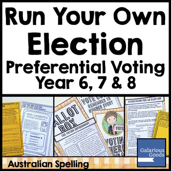 Run an Election - Preferential Voting (Democracy and Me)