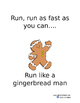 Run club get moving signs
